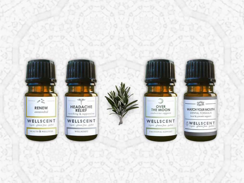 well scent apothecary package design
