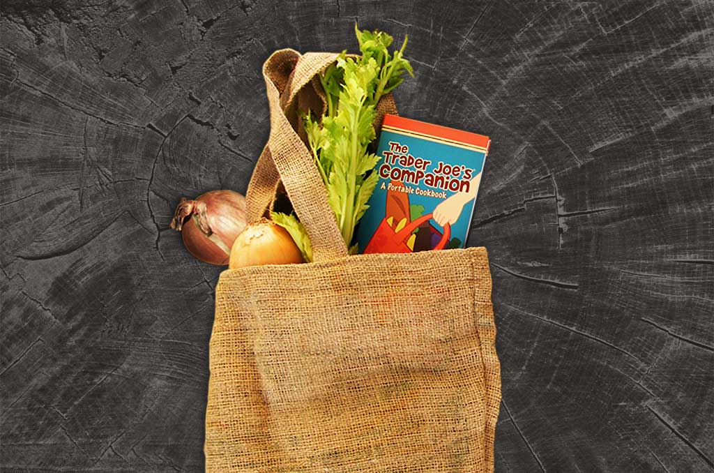 trader joes cookbook design